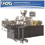 Machine à extruder en plastique à double pression