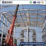 Edificio de marco prefabricado movible de la estructura de acero del metal para el almacén
