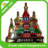 Alte città Souvenir Metal Fridge Magnet di Relief Vintage Custom 3D