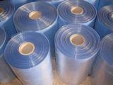 Cristal - film de rétrécissement simple clair de la chaleur de chlorure polyvinylique de blessure de catégorie comestible avec le GV approuvé (XFF04)