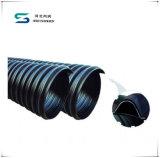 Tubo acanalado del drenaje de la pared de la venda de acero del doble del HDPE del diámetro grande