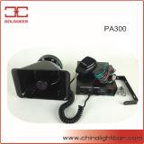 Серия сирены автомобиля электронная (PA300)