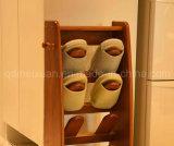 Pé de madeira sólida parasitológico de fezes moderna sala de estar nas fezes (M-X2543)
