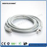 Cavo di zona della rete del cavo di zona del cavo del PVC del ftp CAT6A con il conduttore di rame puro incagliato
