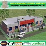 Almacén prefabricado de la estructura de acero de la erección rápida/edificio/fábrica prefabricados
