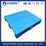 Racking plástico da pálete do HDPE resistente para a venda