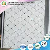 Matériau décoratif de plafond de PVC de bonne qualité, panneau de PVC, panneautage DC-34 de Ceiing