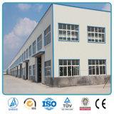 Structure en acier versé pour les installations industrielles
