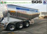 Aanhangwagen 3 van het Aluminium van Shengrun Bulk Semi de Tanker van het Cement van de As met Uitstekende kwaliteit