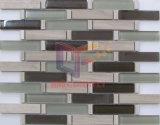 Decoração de paredes e pisos de mosaico de vidro e travertinos (CFS706)
