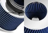 De droge rond Verminderde Filter van de Lucht van het Gaas Blauwe