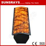La fibra de metal del quemador de infrarrojos