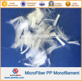 Fibra del monofilamento del polipropileno para las adiciones concretas