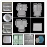 Envase de alimento de la espuma del picosegundo/placa/máquina disponibles del plato/de la bandeja/del rectángulo