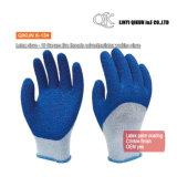 Mesures K-131 10 5 gants fonctionnants de sûreté de latex de Polycotton d'amorçages