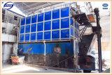Economia de energia caldeira de vapor despedida do combustível contínuo do Bi-Cilindro de 20 T/H