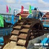 바퀴 물통 모래 세탁기 (80tph)