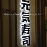 LEDの屋外および屋内金属の文字の照明印