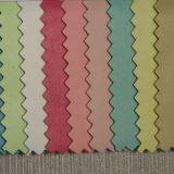 PU de cuero de imitación de cuero para calzado (HST051)