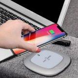 Soporte de teléfono móvil inalámbrica Qi Cargador para iPhone X/8/8/Plus de Samsung Galaxy Note 8/S9/S9+/S8