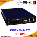 4 canais D1 Car Bus Mobile 3G GPS WiFi Mdvr