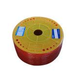 Pipe hydraulique et pneumatique en caoutchouc de boyau d'unité centrale de pièces