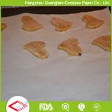 460x710mm hojas de papel pergamino de silicona para hornear