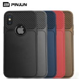 De Cel van de Vezel TPU van de koolstof/het Mobiele Geval van de Telefoon voor iPhone Xs Maximum Xr 7/8plus