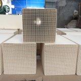 Cordiérite, mullite, Corundum-Mullite, alumine chauffage céramique Honeycomb pour RTO