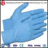 Couleur de haute qualité des gants en nitrile jetables médical