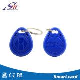접근 제한을%s 유일한 13.56MHz Mf 영 RFID Keychain