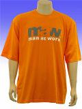 T-shirt en coton à col rond de qualité supérieure personnalisé