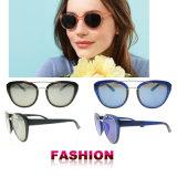 De in het groot Zonnebril van de Vrouw van de Zonnebril van China van de Zonnebril van de Manier