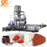 Excelente qualidade máquinas de alimentos para peixes aquáticos em pellets e a linha de produção do extrusor
