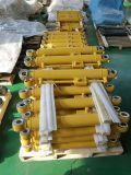 Цилиндр втулки поршеня 3 этапов одиночный действующий гидровлический для тележки сброса