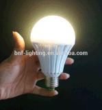 Nuova lampadina a luce di emergenza ricaricabile intelligente a LED E27 B22 per riparazione Moto e lampada da campeggio