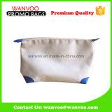 2016 OEM Design Fashion Solid Cotton Cosmetic Bag & Wallet para senhoras