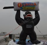 Facendo pubblicità a Inflatbles, gorilla di Giant Balloon per Advertisement (K2029)