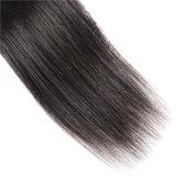 Cheveux raides brésilien 100 % les faisceaux de Tissage de cheveux humains 8-30pouces, non Remy Hair trame