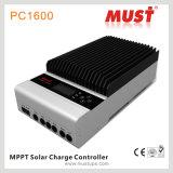 Populärer Solarladung-Controller der Entwurfs-Luftkühlung-MPPT (PC1600A)