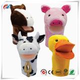 Insieme del burattino del giocattolo degli animali da allevamento di Bigmouth