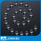 D) pierre en verre claire de qualité supérieur de 11mm pour la pompe de lotion