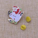 Metallabzeichen-Geschenk-WeihnachtsreversPin für Weihnachten anpassen