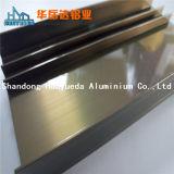 Elektrophorese-Aluminiumstrangpresßling-Profil für schiebendes Fenster