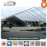 15m door 25m TFS boog de Gevormde Tent van het Aluminium van pvc voor OpenluchtTentoonstelling