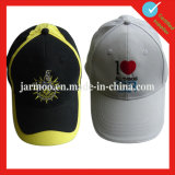 Hotsale резвится вышивка 6 бейсбольных кепок панели