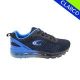 Deporte y zapatillas para hombre con amortiguación neumática y suela de punto superior