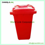 Heißer Verkauf im Freien 50 L fahrbarer Abfall kann mit Kappe