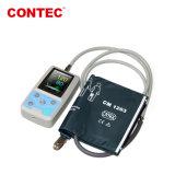 Contec Pm50 Poche portable Moniteur de pression sanguine de la PNI/SpO2 du moniteur LCD TFT moniteur patient