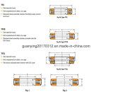 T1260 do rolamento de roletes cónicos de Encosto